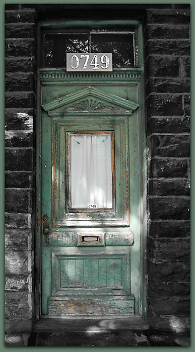 photoblog image What's Behind The Green Door?