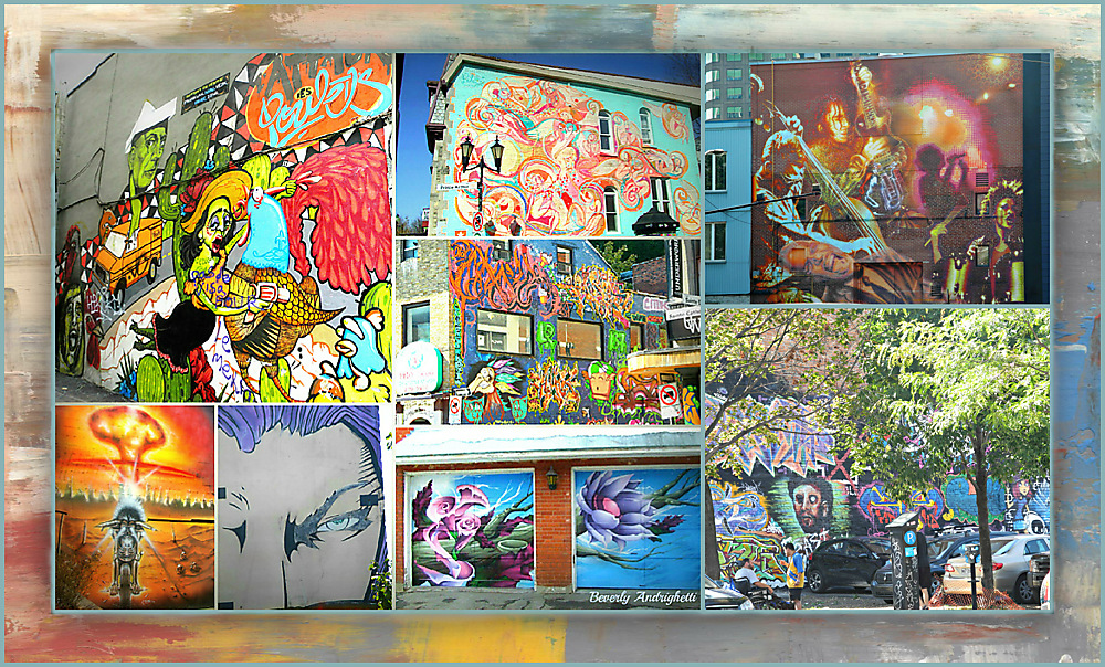 photoblog image Graffiti Artists Alive and Well in Montreal