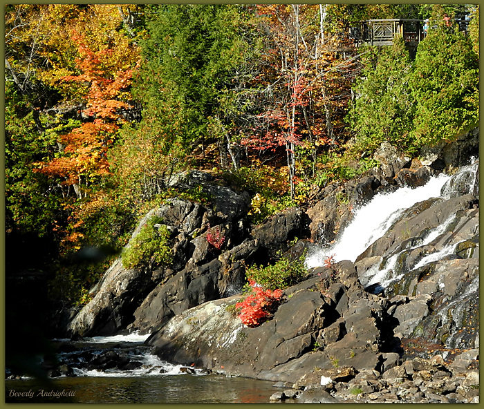 Laurentian Waterfall