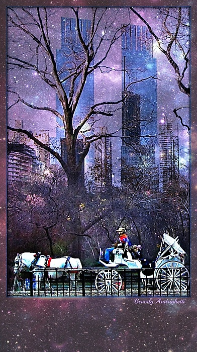 photoblog image Central Park Fantasy - Carriage Ride