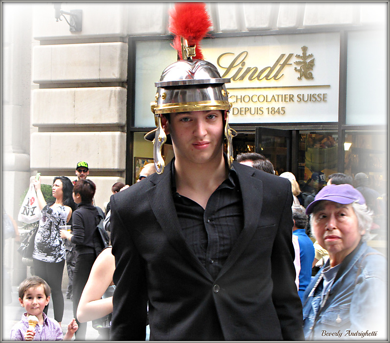 photoblog image In His Easter Bonnet - Fifth Ave., NYC